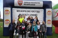 thumbs dsc 0184 10. miejsce sztafety dziewcząt w Mistrzostwach Wielkpolski