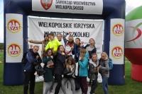 thumbs dsc 0192 10. miejsce sztafety dziewcząt w Mistrzostwach Wielkpolski