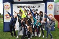 thumbs dsc 0198 10. miejsce sztafety dziewcząt w Mistrzostwach Wielkopolski